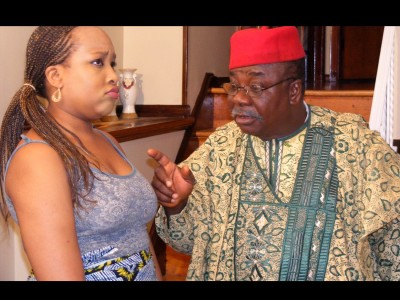 AFRICAN CHIEF BRINGS AFRICAN WIFE FOR OZOBIO IN AMERICA